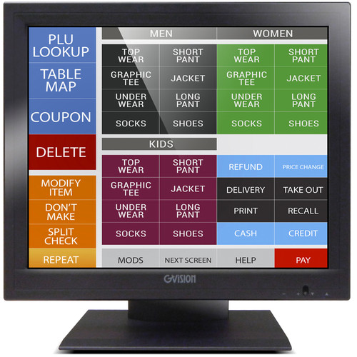 GVision USA 17? Resistive Touch Screen Monitor