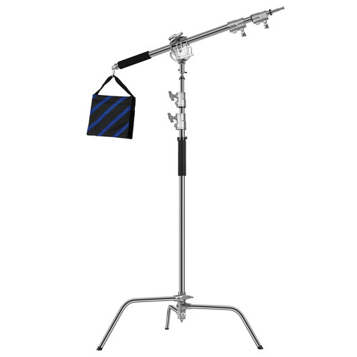 GVM C360 Turtle Base C-Stand and Cross Arm Boom Kit (10.5')