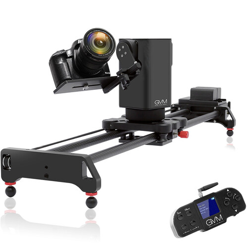 GVM 3-Axis Wireless Professional Video Carbon Fiber Motorized Camera Slider