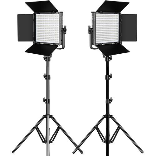 2-Pack GVM Great Video Maker 50RS RGB Video Lighting Kit