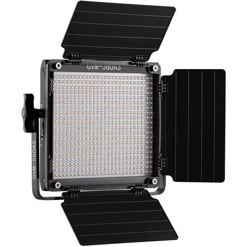 GVM GVM-560AS 30w 14.8v/110-130 2300-6800K BC LED Panel