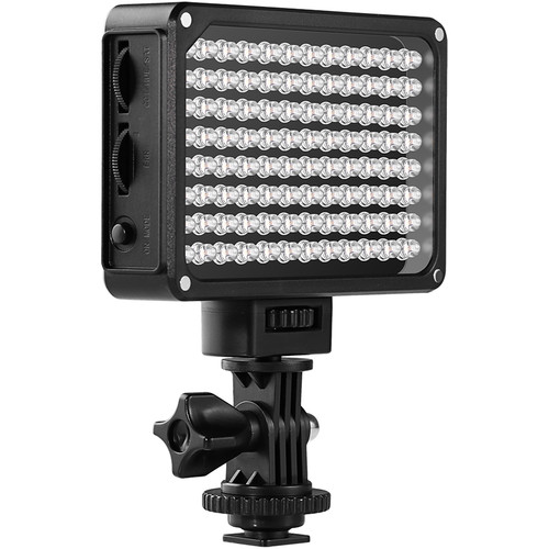 GVM Professional Video Variable On-Camera Video Light LED Panel Kit