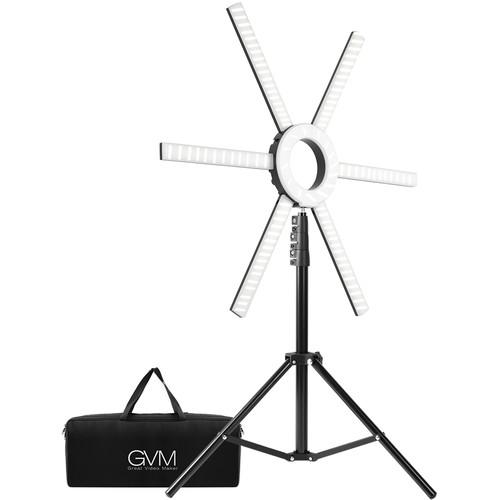 GVM-600S LED Ring Light
