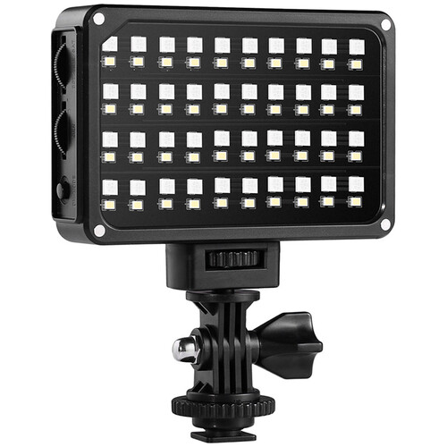 GVM 7S RGB LED On-Camera Video Light with Wi-Fi Control