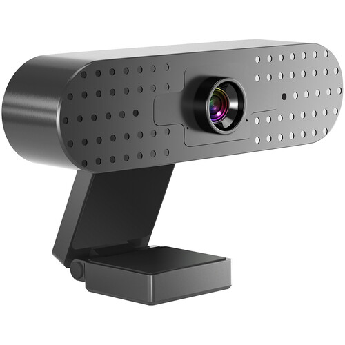 GVM USB Full HD 1080p Webcam with Built-in Dual Microphones