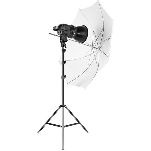GVM LED Video Soft Light (Daylight-Balanced) LS-p80s LED 1-Light Kit with Umbrella