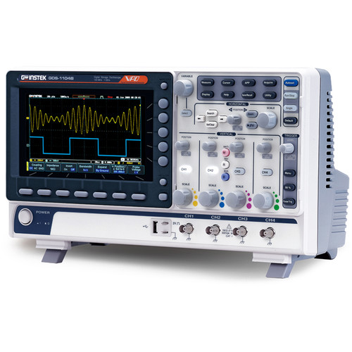 GW Instek 4-Channel Digital Storage Oscilloscope (50 MHz)