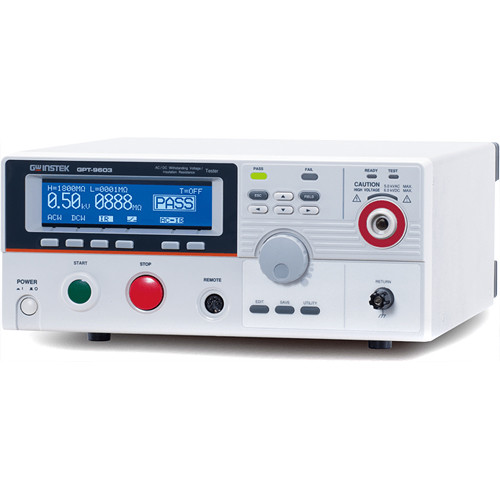 GW Instek AC/DC Withstanding Voltage/Insulation Resistance Tester (100VA)