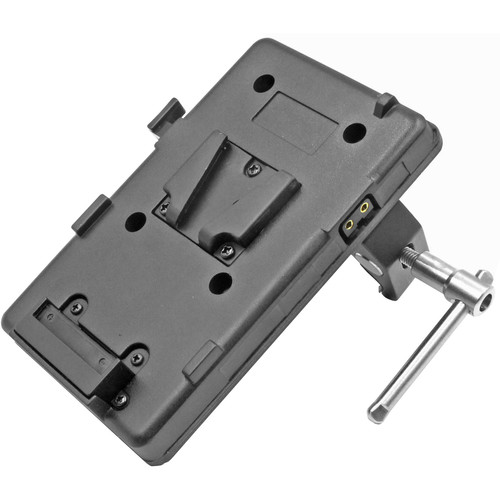 "GyroVu D-Tap Battery Plate with 1/4""-20 Thread & Adjustable Clamp Mount (V-Mount)"