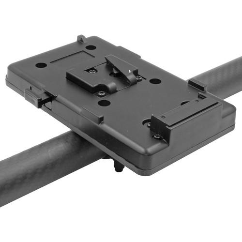 GyroVu V-Mount Battery Carbon Fiber Mount with D-Tap Connector for DJI Ronin
