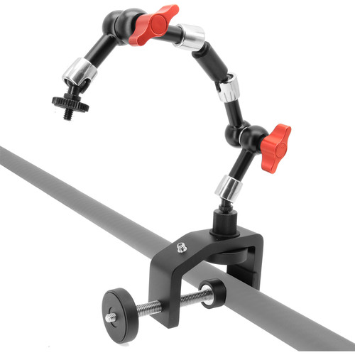 "GyroVu 2.5"" Clamp Mount With Dual 7"" Heavy Duty Articulated Arm"