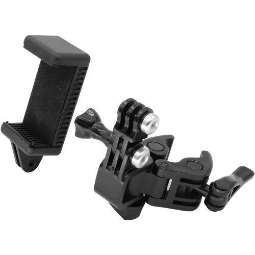 GyroVu Universal Clamp Mounting Kit for GoPro and Smartphone