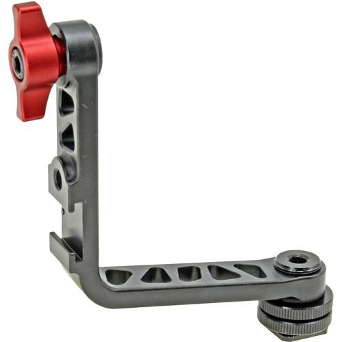 "GyroVu L-Shape Monitor Bracket with Shoe Adapter & 1/4""-20 Mounts"