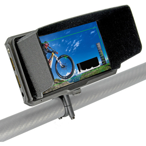 """GyroVu Lightweight 5"""" On-Camera HDMI Monitor with Carbon Fiber Clamp for DJI Ronin Series"""