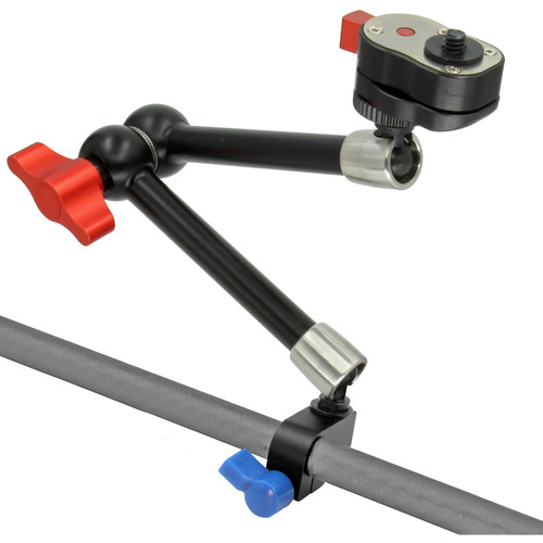 "GyroVu 11"" Heavy-Duty Articulated Arm Mount with Quick-Release for 15mm Rod/Pipe"