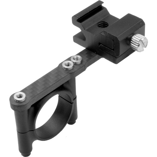 GyroVu Hot Shoe Carbon Fiber Mount for Mounting Microphones & Accessories for Ronin M/MX, Movi Gimbals (Single Version)