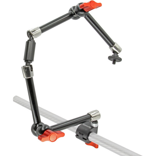 "GyroVu Heavy-Duty 15mm Quick Release with Dual 11"" Articulating Arms"