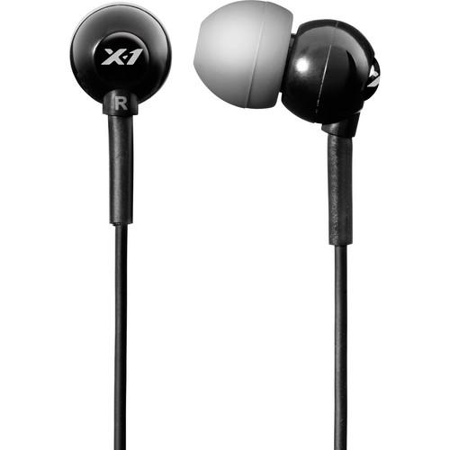 x-1 Flex All Sport Waterproof Headphones (Onyx Black)