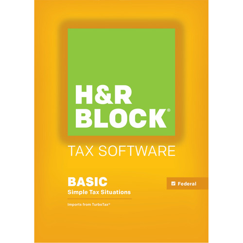 H&R Block 15 Basic (Download, for Windows)