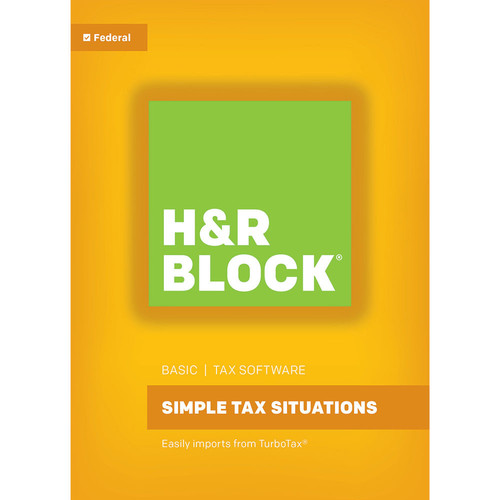 H&R Block H&R Block 16 Basic (Download, Mac)
