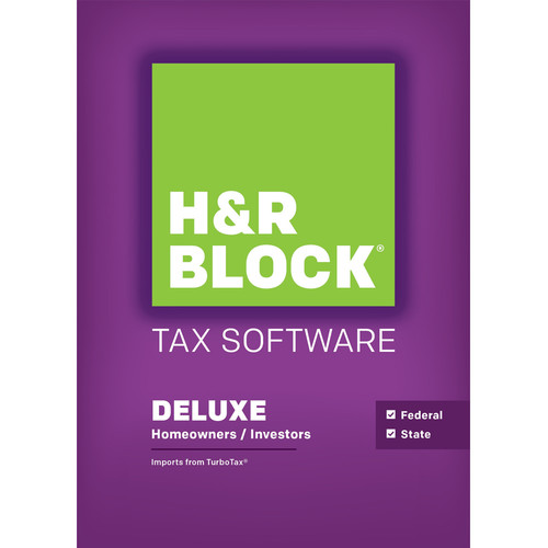 H&R Block 15 Deluxe + State (Download, Mac)