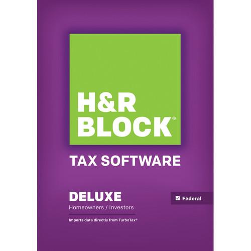 H&R Block 14 Deluxe (Download, Windows)