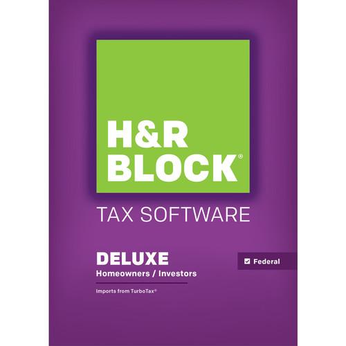 H&R Block 15 Deluxe (Download, Mac)