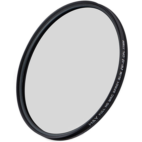 H&Y Filters 37mm Circular Polarizer HD MC Filter
