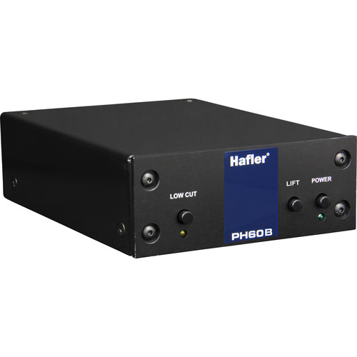 Hafler Phono Stage for Moving Coil, 70Db Gain, RCA and Balanced XLR Out