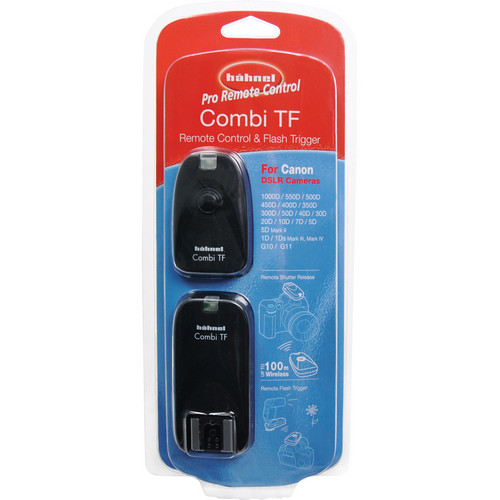hahnel Combi TF Remote Control & Flash Trigger for Canon, Pentax & Samsung DSLRs
