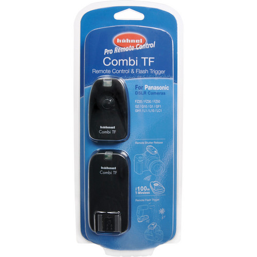 hahnel Combi TF Remote Control & Flash Trigger for Panasonic DSLRS