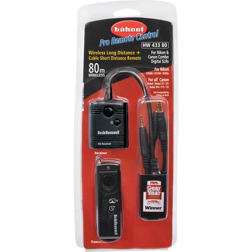 hahnel Wireless RF Pro Remote Control for Canon/Nikon Digital SLRs