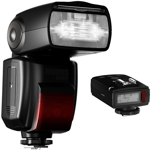 hahnel Modus 600RT Speedlight with Viper Transmitter Kit for Nikon Cameras