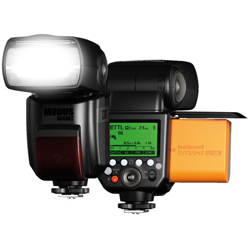 hahnel Modus 600RT Speedlight with Viper Transmitter Kit for Olympus and Panasonic DSLR Cameras