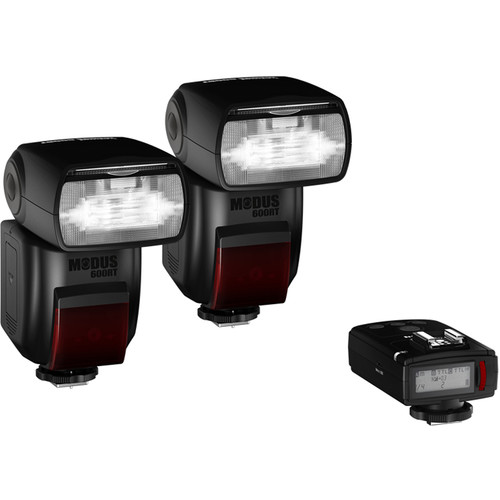 hahnel Modus 600RT Essential Wireless Two Flash Kit for Nikon Cameras