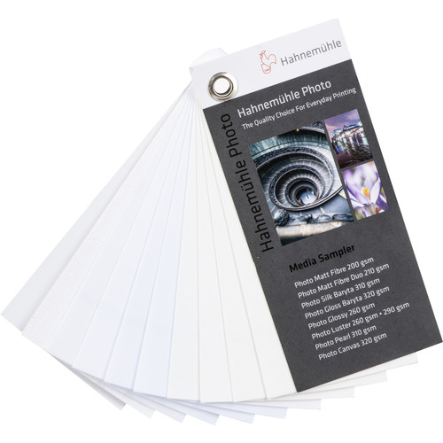 """Hahnemühle Photo Collection Swatch Book (2 x 4"""")"""
