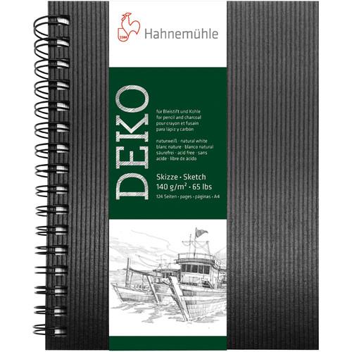 Hahnemühle Deko Sketch Book (Black Cover, A4, 62 Sheets)