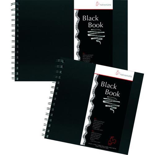 Hahnemühle Landscape Black Page Sketch Book (Black Cover, A4, 30 Sheets)