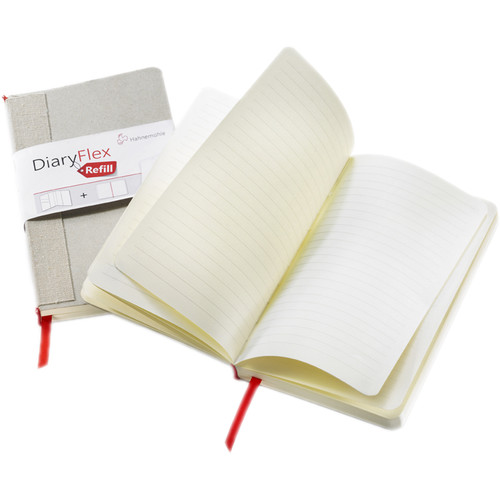"""Hahnemühle DiaryFlex Refill with 160 Plain Pages (100 gsm, 7 x 4"""")"""