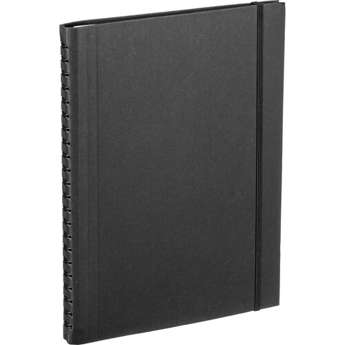 Hahnemühle Sketch Diary (A4 Size, Black, 60 Sheets)