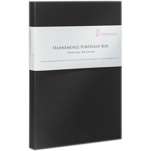 "Hahnemühle Photo Rag 308 Paper & Portfolio Box (13 x 19"", 50 Sheets)"