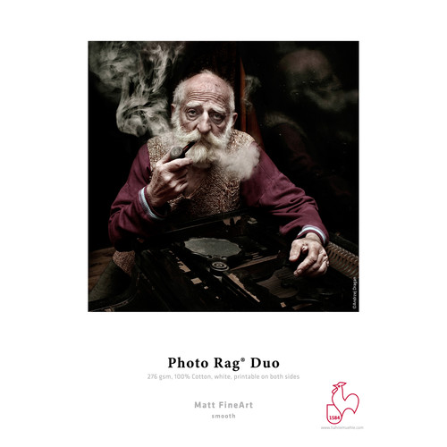 "Hahnemühle Photo Rag Duo Refill Paper (11.7 x 16.5"", Landscape, 20-Pack)"