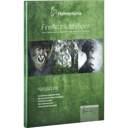 """Hahnemühle Agave FineArt InkJet Paper (17 x 22"""", 25 Sheets)"""