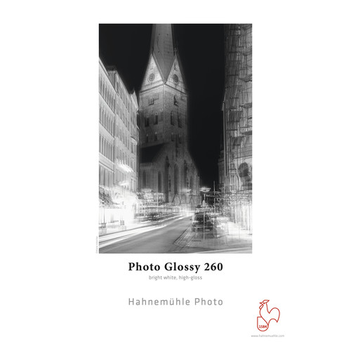 """Hahnemühle Photo Glossy 260 Paper (17 x 22"""", 25 Sheets)"""