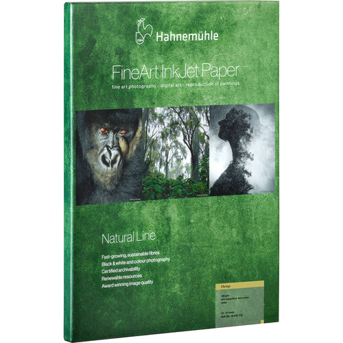 """Hahnemühle Hemp FineArt Inkjet Paper (24"""" x 16.4')"""