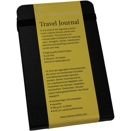 "Hahnemühle Travel Journal (3.5 x 5.5"" Landscape, 62 Sheets)"