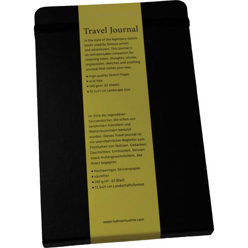 "Hahnemühle Travel Journal (5.3 x 8.3"" Landscape, 62 Sheets)"