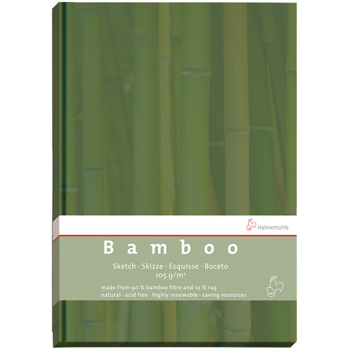 Hahnemühle Bamboo Sketch Book (Green Cover, A5, 64 Sheets)