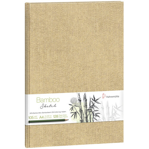 Hahnemühle Bamboo Sketch Book (Green Cover, A4, 64 Sheets)
