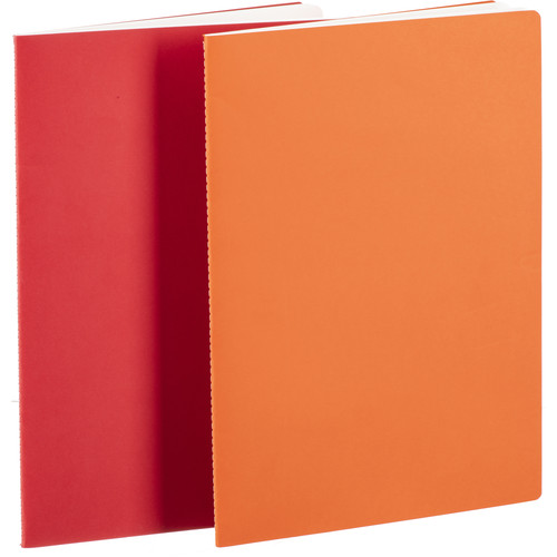 Hahnemühle Sketch & Note Booklet Bundle (Cerise and Paprika Covers, A4, 20 Sheets Each)